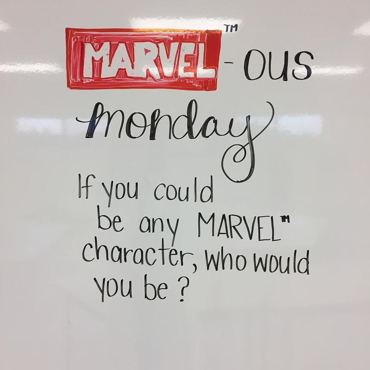 """55 Likes, 1 Comments - Janna (@lovin7th) on Instagram: """"Here we go... my spidey-sense tells me that this is going to be a good week in whiteboard land!…"""""""