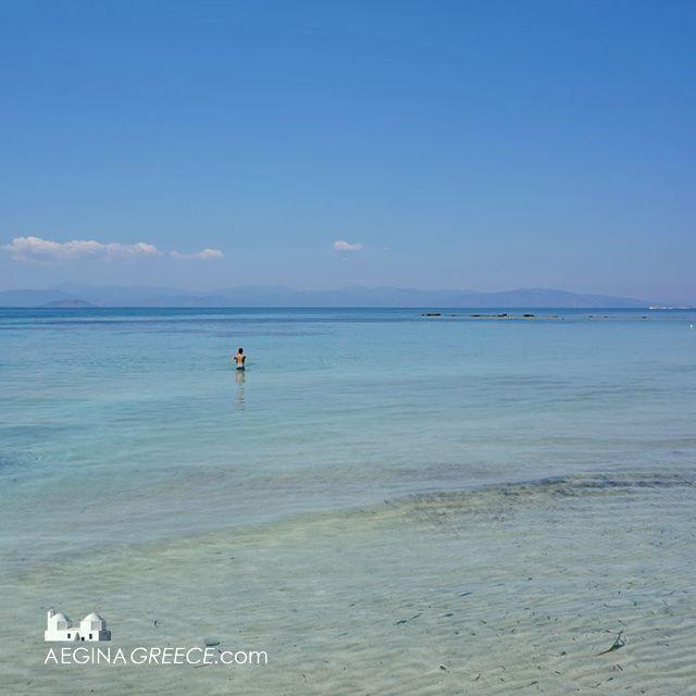 Kolona beach - Aegina town