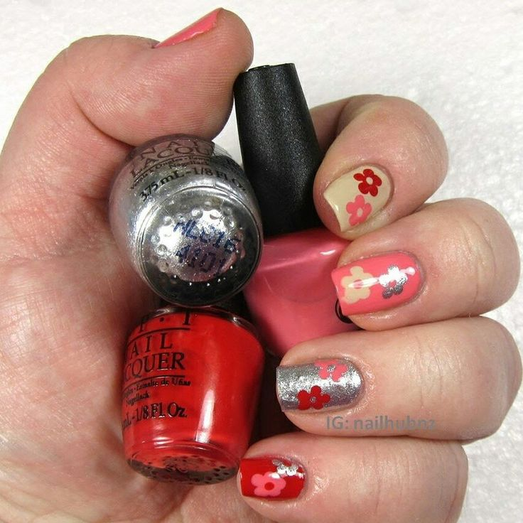 Video up on channel www.youtube.com/user/nailhubnz/videos of this mani using OPI Coca-Cola collection.