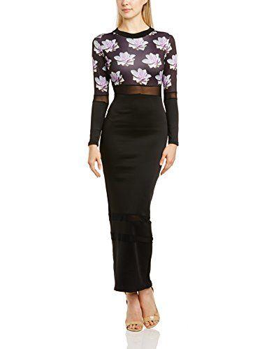 Bill + Mar Women's Cyber Cut Out Maxi Long Sleeve Dress, Multicoloured (Floral), Size 6 Bill + Mar http://www.amazon.co.uk/dp/B00LO9MD2O/ref=cm_sw_r_pi_dp_OFbHub0G1JR63