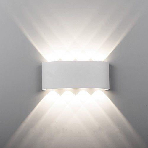 Offerta di oggi maxmer applique da parete per esterno o for Lampade led esterno