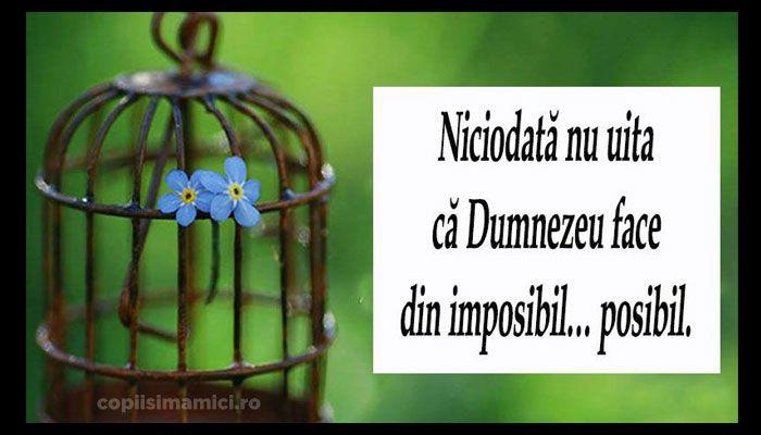 Dumnezeu Face Din Imposibil Posibil #dumnezeu #god #religie #citate #credinta