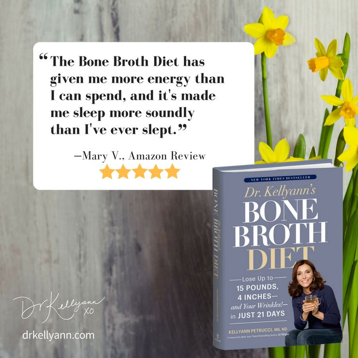 316 best bone broth life with dr kellyann petrucci images on pinterest love this another satisfied customer of the bone broth diet i can fandeluxe Choice Image