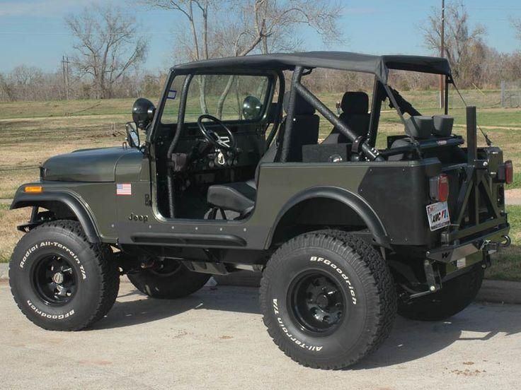 1979 Jeep CJ7 - Project TRex