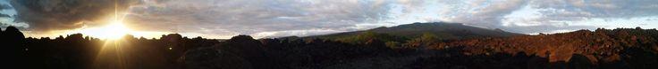 Lava Fields at La Perouse Bay in Makena Maui Hawaii [OC] [1920x206]