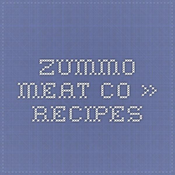 Zummo Meat Co. » Recipes