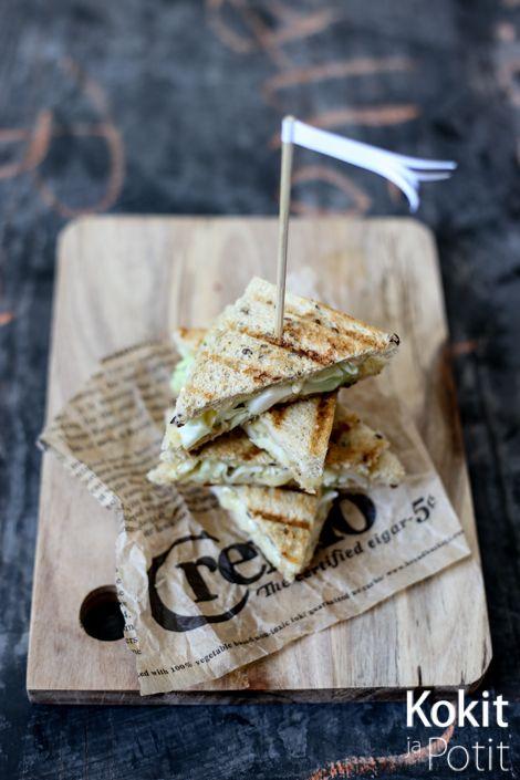 Kokit ja Potit -ruokablogi: Grillattu kaalileipä