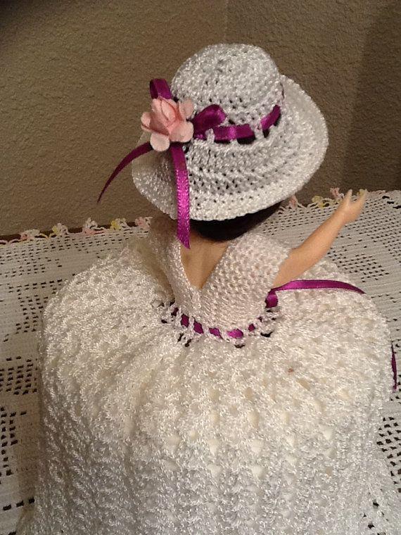 Beautiful Handmade Crochet Doll Toilet Paper by SylviaCrochets, $15.00