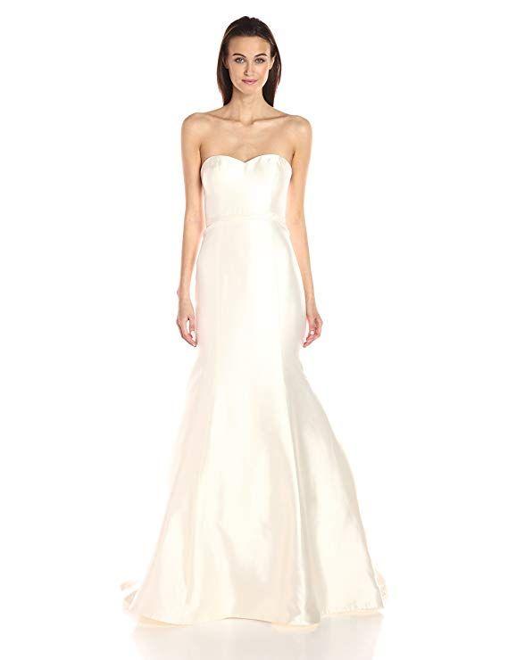 210633a02233 Jenny Yoo Women's London Silk Mikado Wedding Gown at Amazon Women's  Clothing store:
