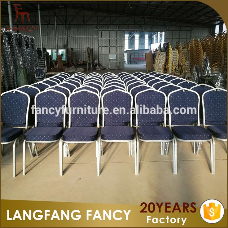 Hotel conference room iron hotel banquet chair with high quality