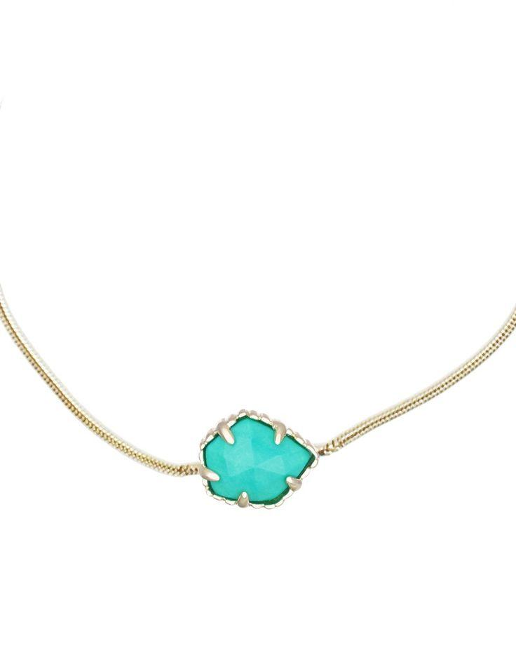 Mara Pendant Necklace in Teal - Kendra Scott Jewelry