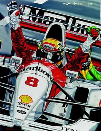 Ayrton Senna THE LAST VICTORY by Colin Carter