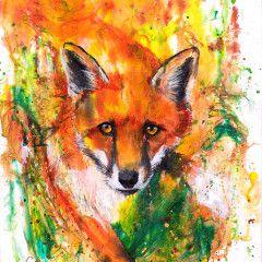 The Ink Series: Fox II