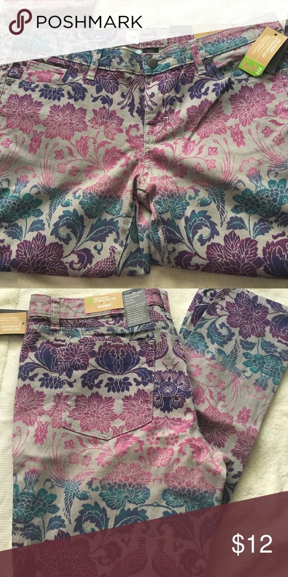 Mossimo jeans Beautiful printed skinny jeans with tags Mossimo Supply Co Jeans Skinny