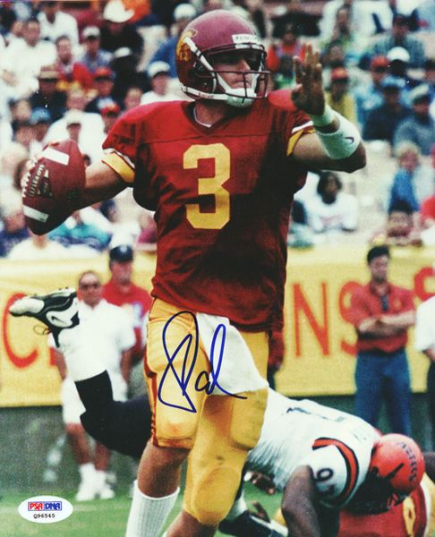 This is an 8x10 Photo that has been hand signed by Carson Palmer. It has been certified authentic by PSA/DNA and comes with their sticker and matching certificate.