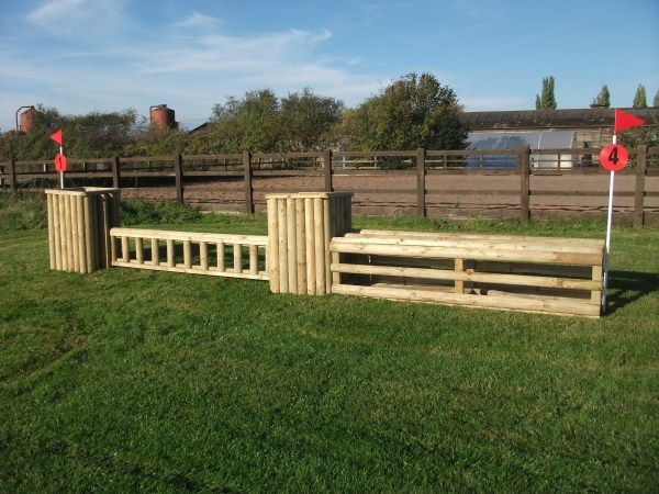 how to make homemade horse jumps