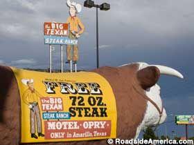 Amarillo: Big Texan Steak Ranch