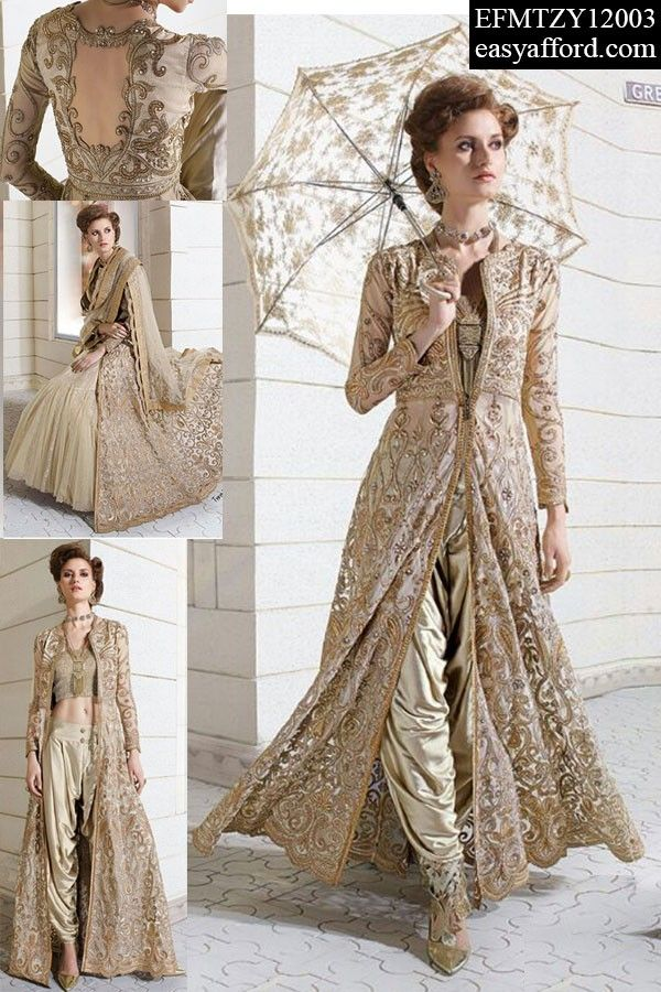 Today's Price Rs 7122/- For Order Call/Whatsapp 07837409851, 08968017642 or Click the below link http://easyafford.com/palazzo-suits/1940-scarlet-beige-double-lower-designer-dress.html  #OnlineDesignerSuit #LatestPalazzoSuit #StraightSuit #KarishmaKapoorSuit #BollywoodSuit #PalazzoSuit #ChuridarSuit #OnlineSalwarSuit #EthnicWear #IndianWear #BuyDesignerSuits #BuyIndianSuits #BuyGeorgetteSuits #OnlineShopping #MarriageShopping #PartywearSuits #BollywoodSuits #OnlineEmbroideredSuit…