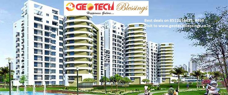 Luxury apartments at GreaterNoida with all modern features launched by Geotech Group.