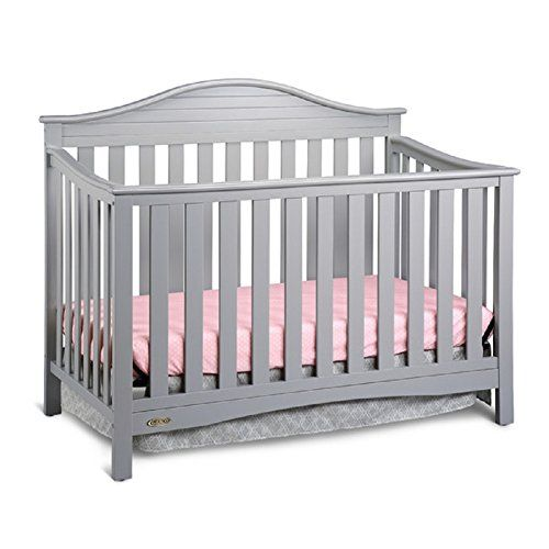 #Graco Harbor Lights Convertible Crib. Boasting transitional style with a touch of nautical flare, the Graco Harbor Lights Convertible Crib creates a cozy sleep ...