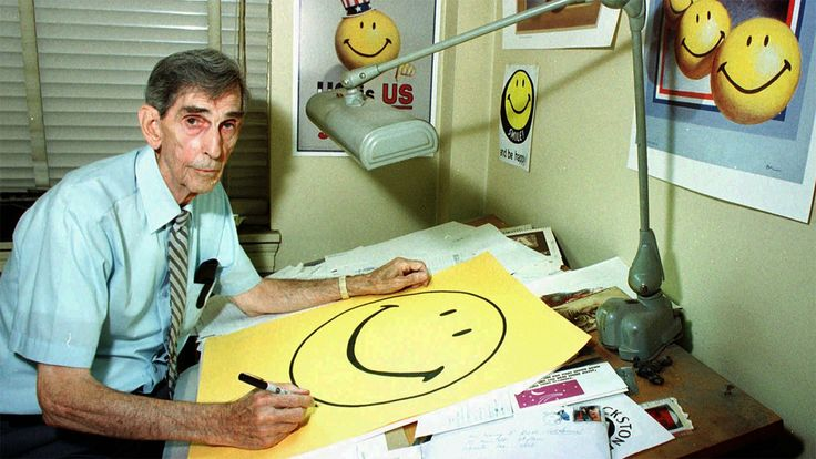 Harvey Ball (July 10, 1921 – April 12, 2001), American commercial artist and creator of The Smiley Face.