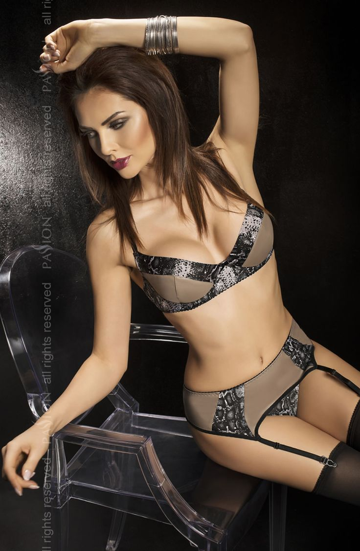 Passion Bravuro Set £45.99  Stunning 3 piece underwired bra set by Passion Lingerie. The Second Skin range feature stretchy and breathable high quality faux leather fabric. Designed to fit the contours of the body like a second skin.
