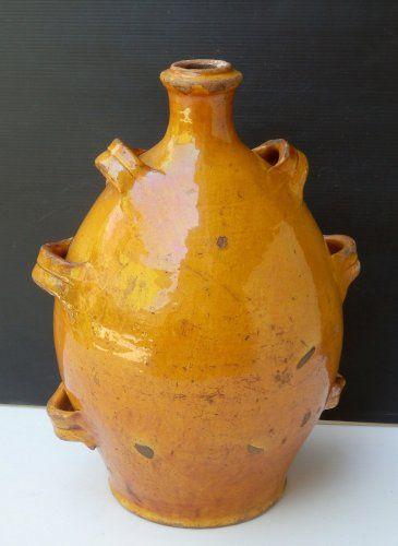 """Poterie Provençale """"Conscience"""" couleur Miel - Céramiques, Porcelaines Style"""