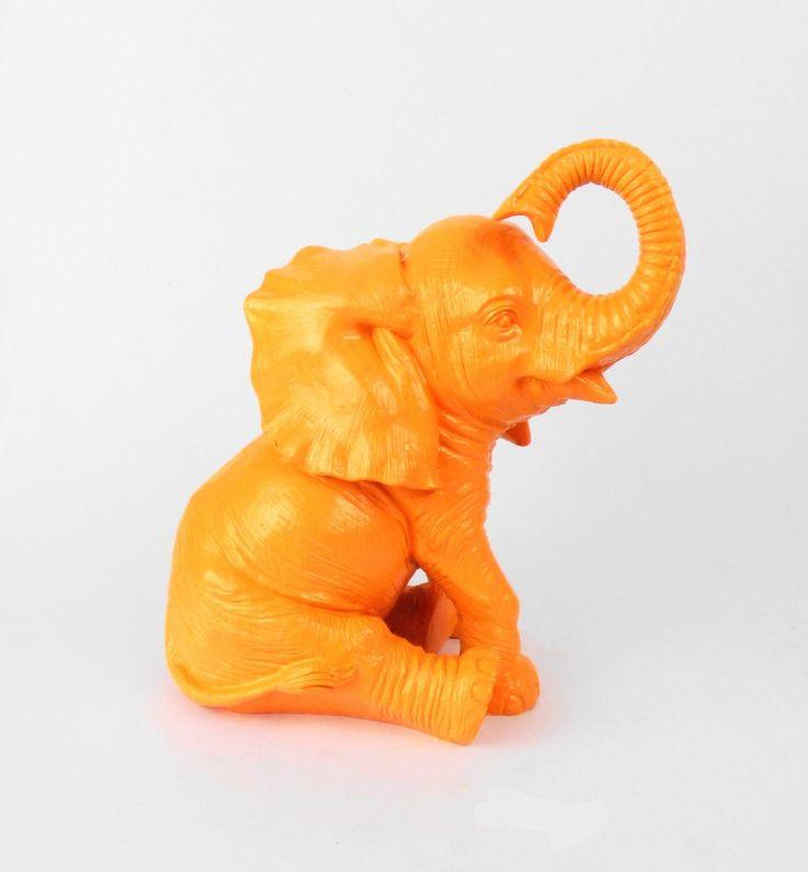 NEW - Baby Elephant, Elephant Statue, Elephant Decor, African Elephant, African Decor, Cute Baby Elephant, Dumbo, Nursery Decor, Nursery by hodihomedecor on Etsy