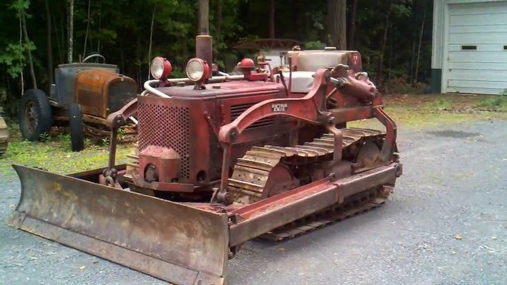 Old Antique Jd Crawlers : Antique bulldozers crawlers international harvester td