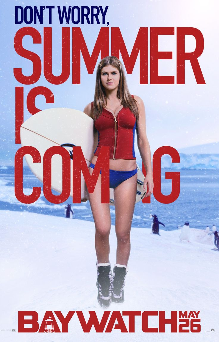 Alexandra Daddario is coming.