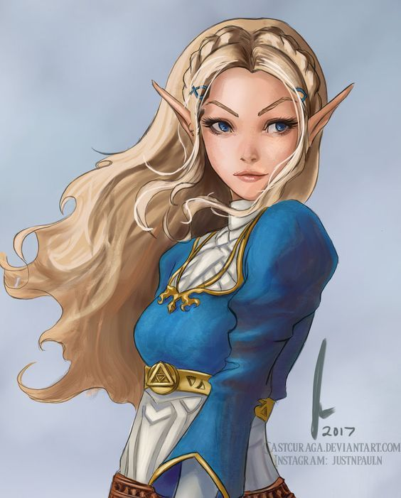 Zelda - Legend of Zelda : Breath of the Wild by castcuraga on DeviantArt