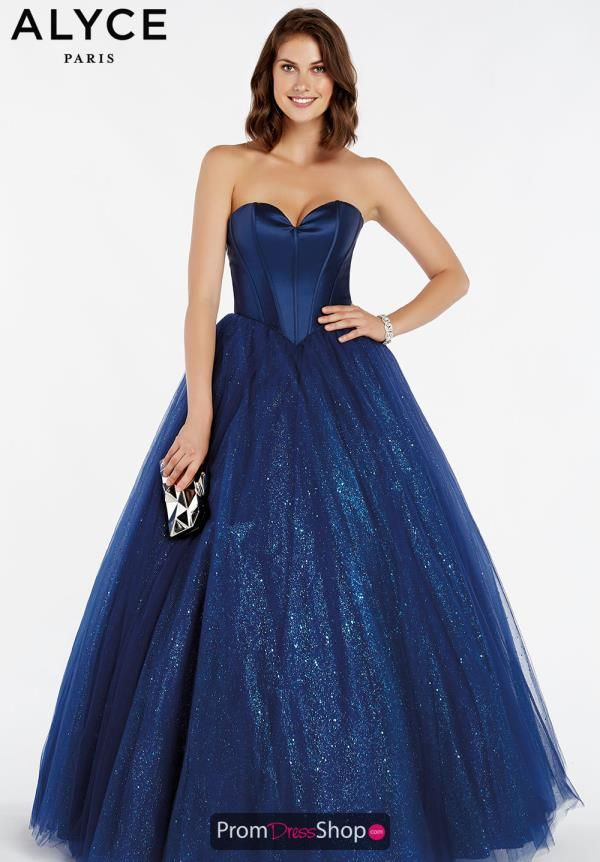 ea99c3b074e The corset bodice on this ball gown 60382 by Alyce Paris will cinch your  waistline instantly. This flattering style features a fitted corset bodice  with a ...