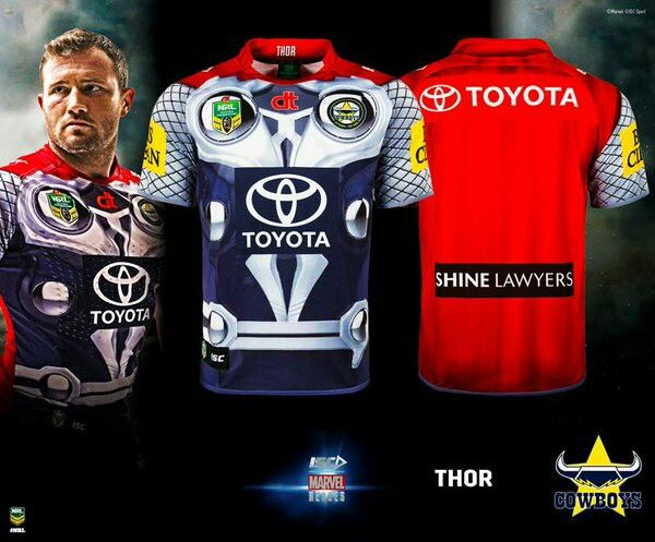 Australian Rugby League marvel promotion