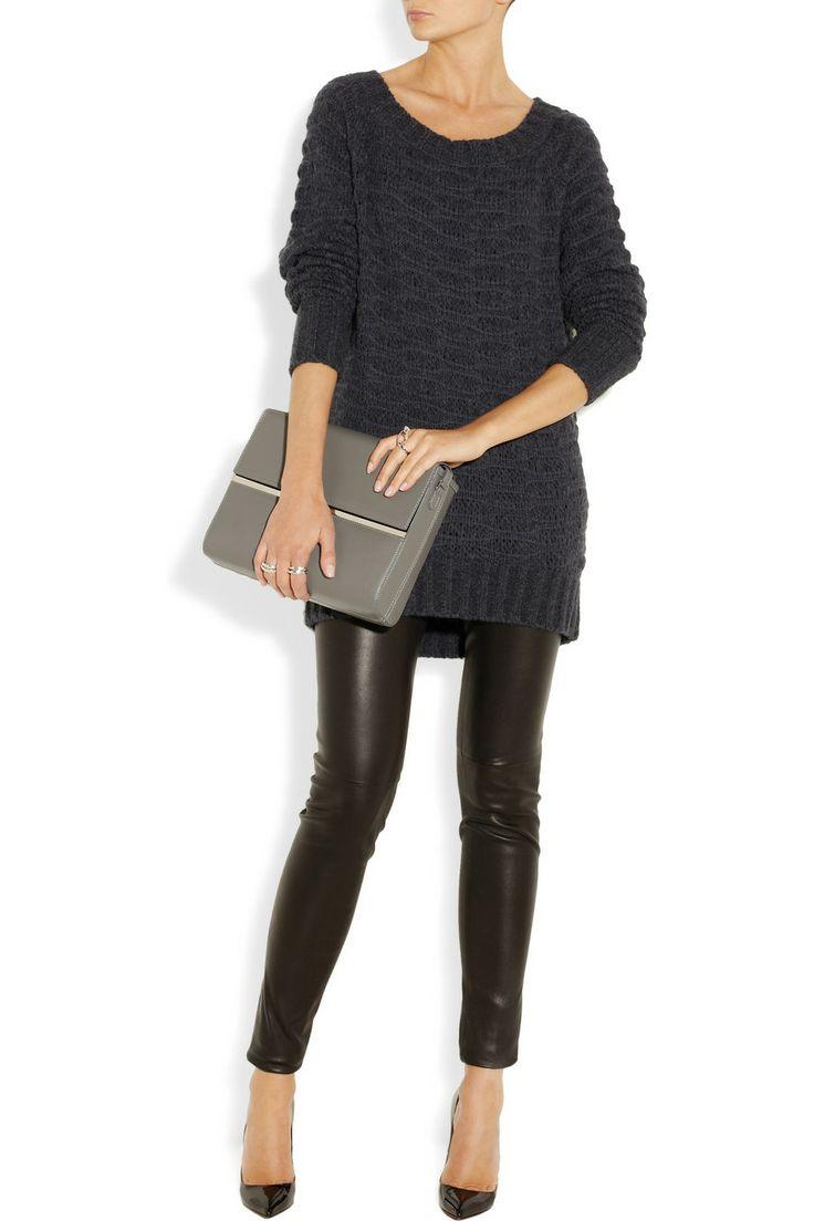 Donna Karan|Open-knit sweater|NET-A-PORTER.COM