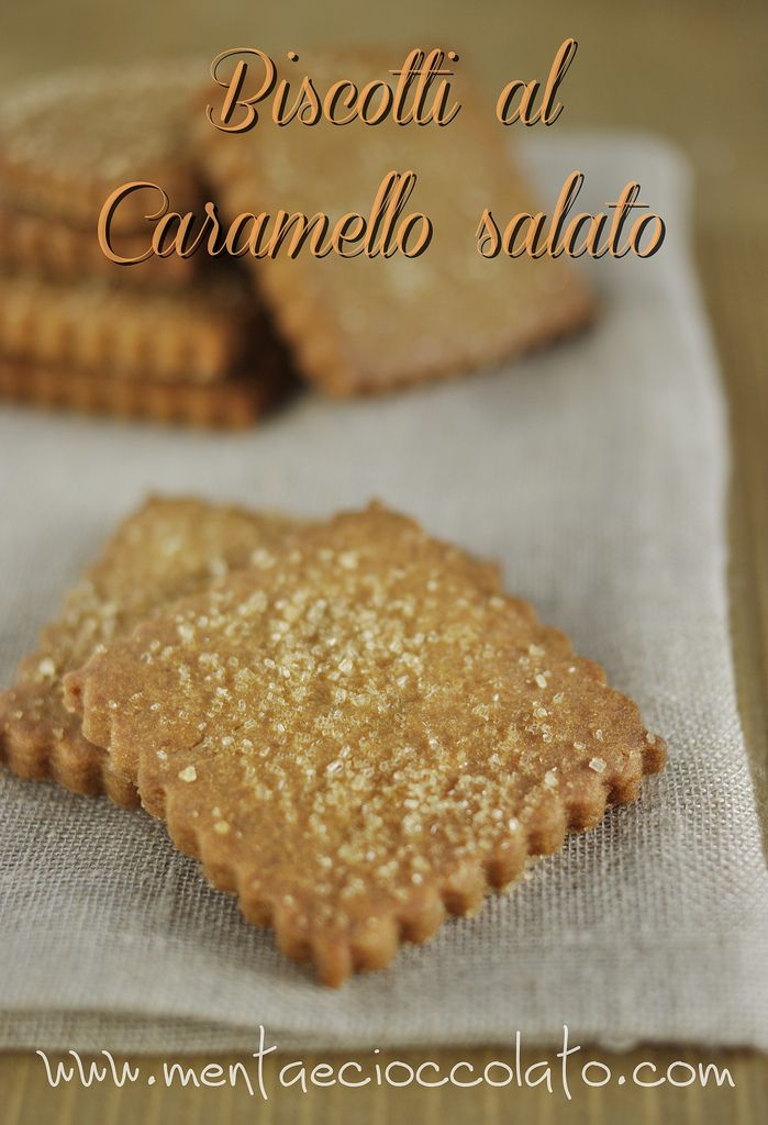 Menta e Cioccolato: Biscotti al caramello salato