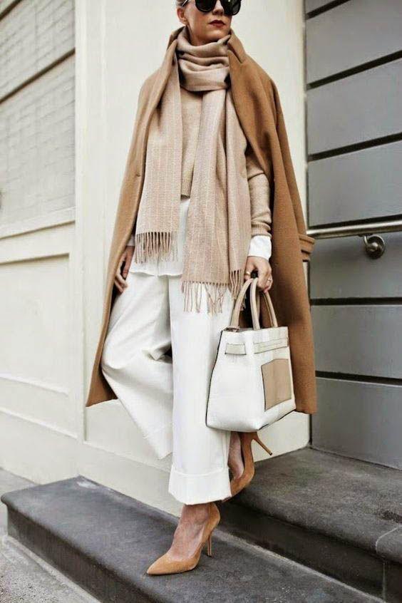 Camel Coat / street style fashion / fashion week #coat #fashion #womensfashion #…