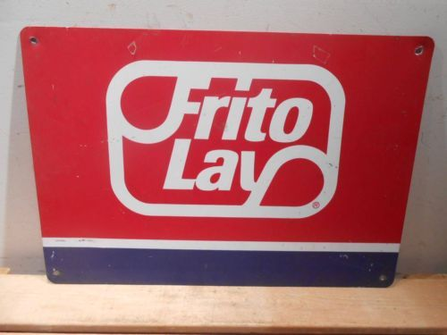 FRITO LAY CHIPS SIGN