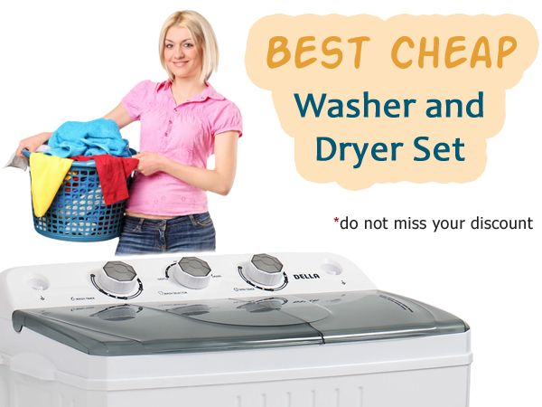 Which is the best cheap washer and dryer set? In this comparative review, we will consider washer and dryer sets in the price range of 80-170 dollars. #washeranddryer