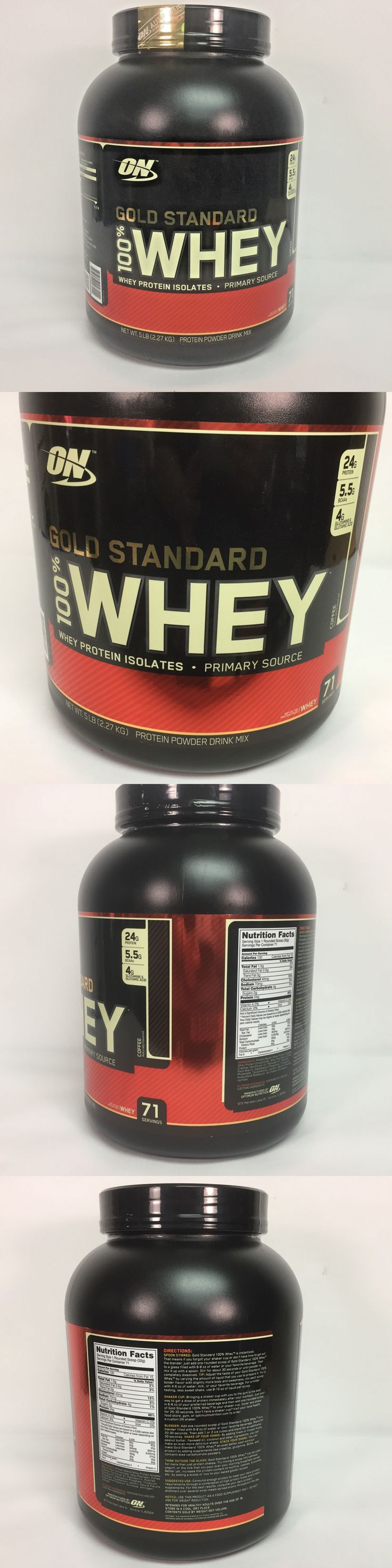 Protein Shakes and Bodybuilding: On Gold Standard 100% Whey | Protein Powder Drink Mix | 5Lb | Coffee Flavor -> BUY IT NOW ONLY: $45 on eBay!