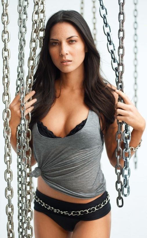 Ms. Olivia Munn. Didn't find out about her till yesterday #AlreadyObsessed