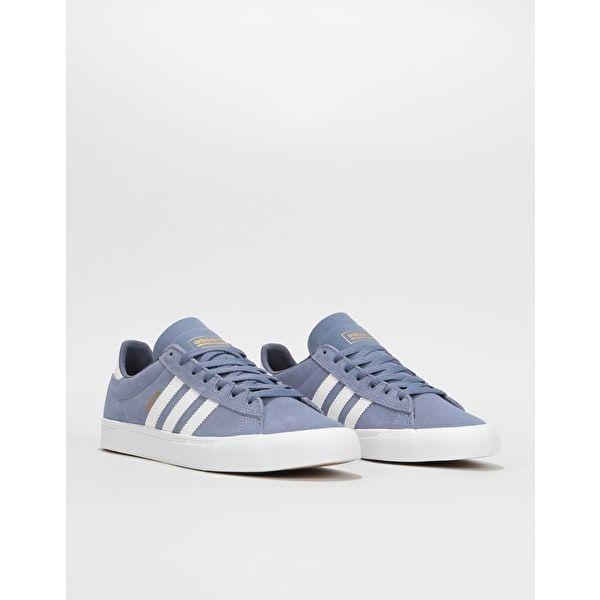 f78d85d8a44e Adidas Campus Vulc II Skate Shoes - Raw Indigo White Raw Indigo ...