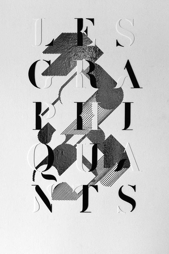 typography poster - Google Search