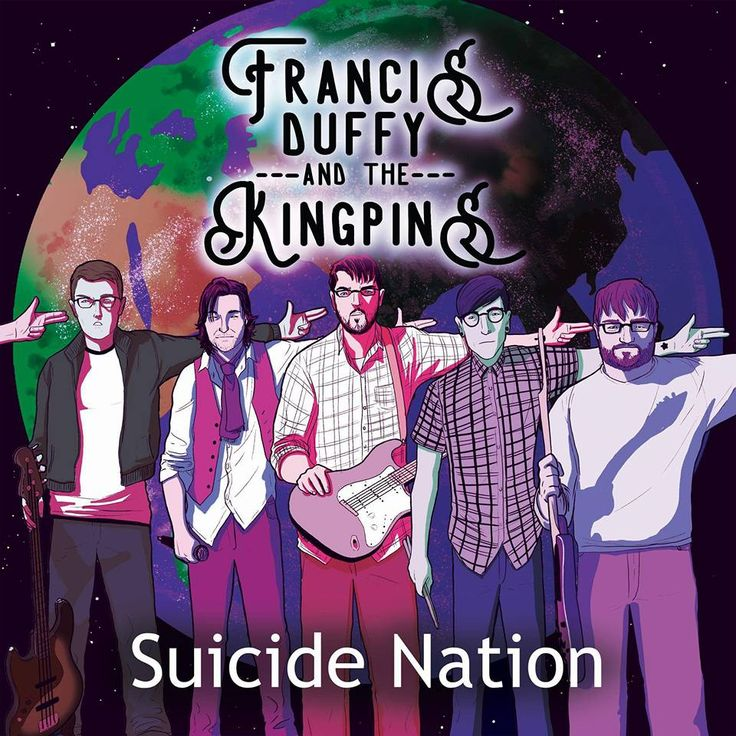 Suicide Nation EP Cover 2017 Coolest EP cover I've seen from a local Scottish band