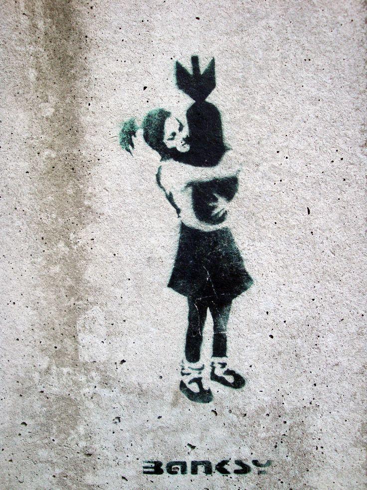 ¿Conoces a Banksy? Te lo presento - Taringa!