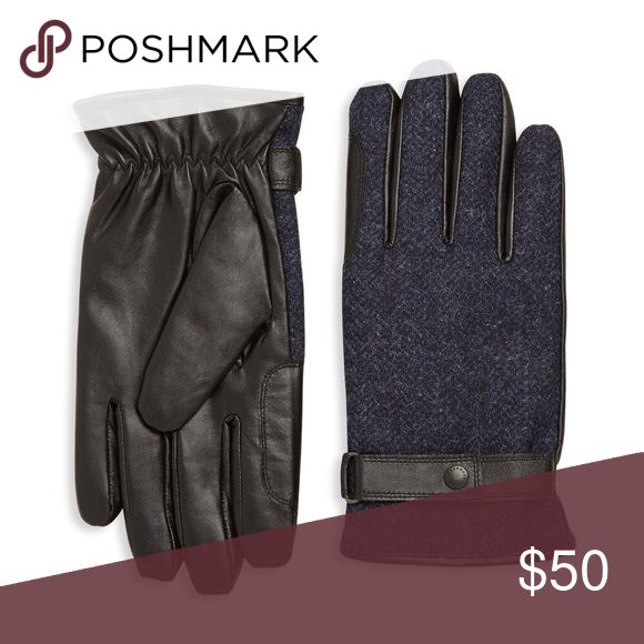 Barbour Gloves Leather and tweed. Barbour Accessories Gloves