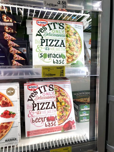 Yes Its A Pizza Beetroot Base Asda They Have A