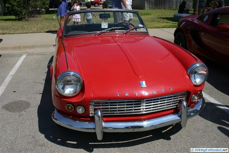 Triumph Spitfire 4. As seen at the September 2011 Cars and Coffee Austin TX.