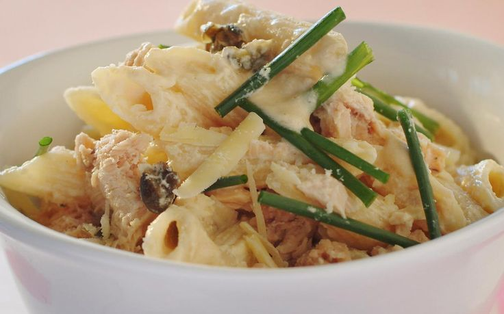 Whip up this creamy salmon and chive penne pasta dish in no time at all - perfect for a quick weeknight family dinner that is packed full of flavour.
