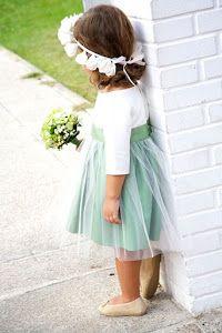 Ideas para las damitas y pajes de la boda. ¡La parte más tierna de la boda!