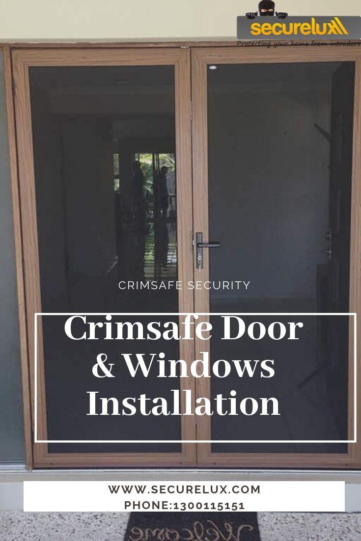 Crimsafe Windows Security Doors Window Installation Windows Security Door